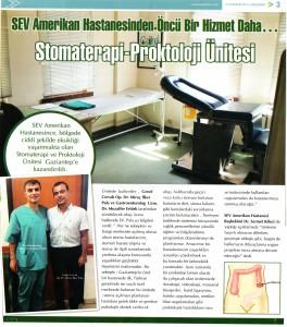 Sromaterapi-Proktoloji Ünitesi