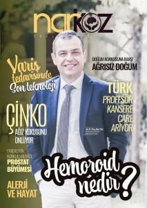 Narkoz Dergisi Kapağı İlker Pala